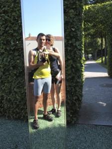Laz e Giulia cicloturisti