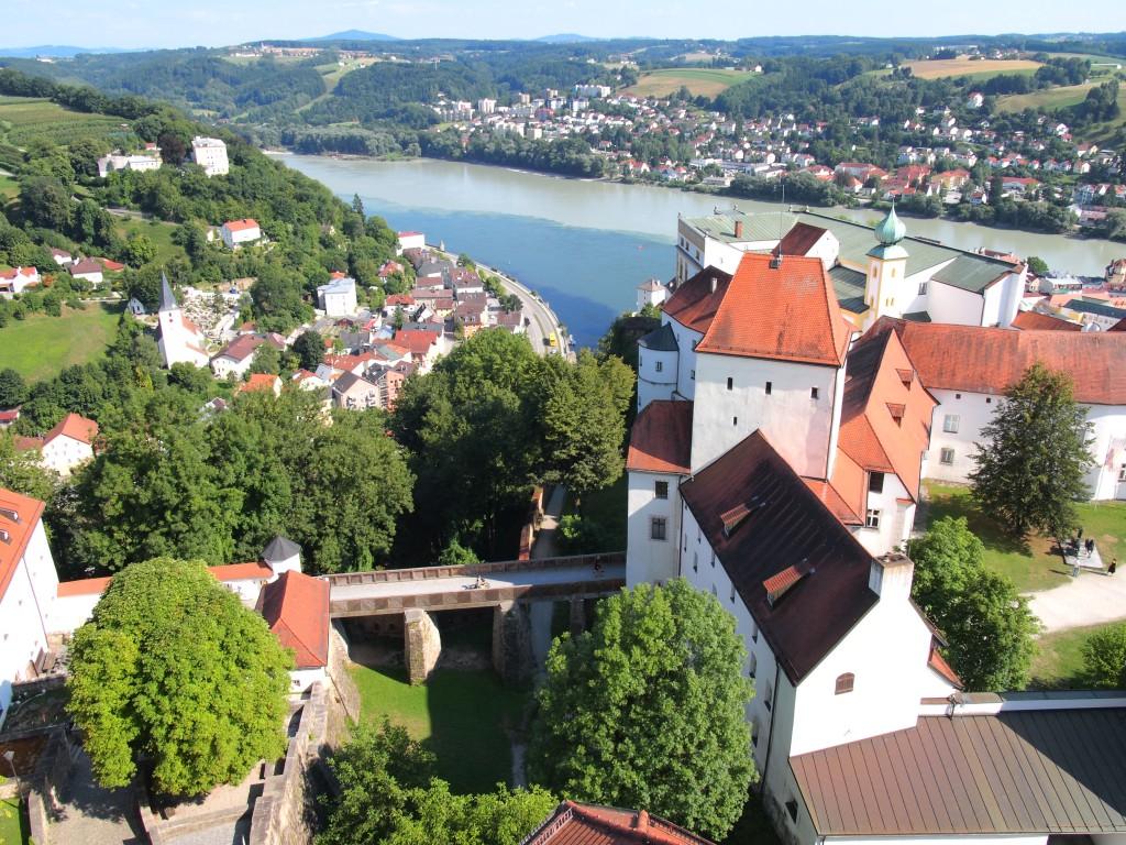 Passau ed i tre fiumi
