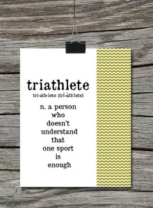 Triathlete definition