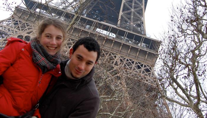 Laz e Giulia a Parigi